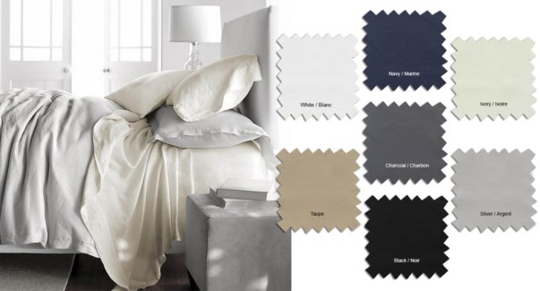 T200 SOLID 100%COTTON SHEET SET SILV T