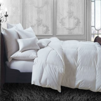Couette Percale Blanc Synth Hotel Double
