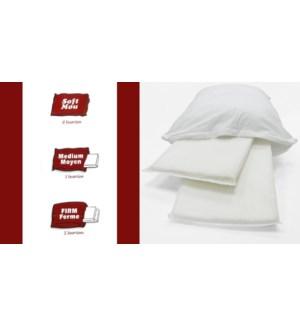 Perc..wht 3in1 Pillow Std