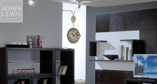 Wall Clock Mult 60dia 2/b