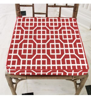 Amsa Chair Pad 15x15 Red