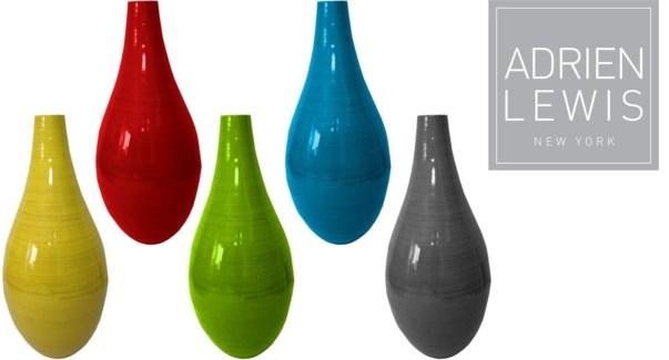 Bamboo Vase Bn163-3 Lt/grn  1b