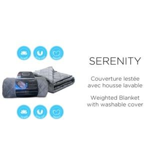 weighted blanket 60x80 15 lbs.
