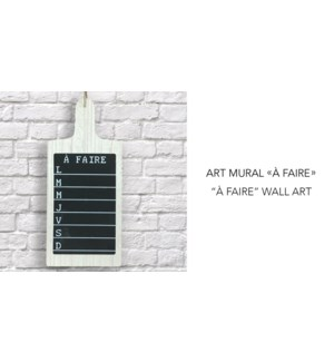 A Faire Wall Art 18x40-8B