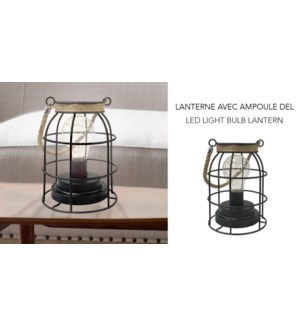Lanterne d'ampoule … LED - 12,7x17,5 - 6B