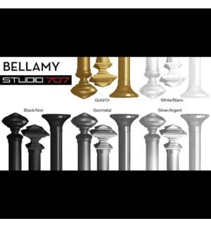 BELLAMY ENSEMBLE DE TRINGLE ARGENT 48X86 6B