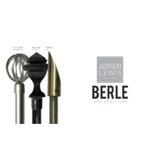 BERLE ENSEMBLE DE TRINGLE ASST 28X48 6B