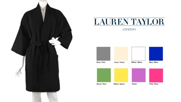 Terry Bathrobe Ass L 20*46""