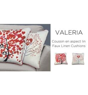 Valeria cushions 18X18 ASST. 12b