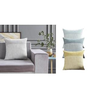 Stratus chenille cushion 18x18-CUSHION