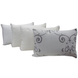 C-matelasse Whi Pillow Shell Q