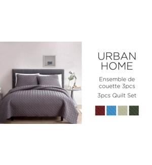 URBAN HOME quilt set 101X86 8/B