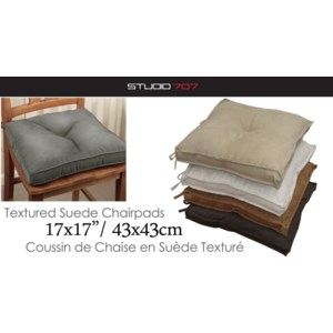Chair Pads - Coussins de Chaise