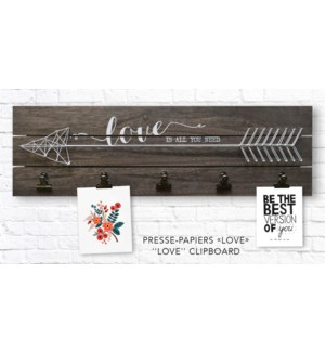 Love Clip Board 58x17x4,9 - 6B