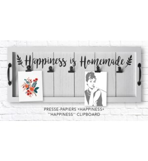 Happiness Clip Board 28x5x68 - 6B
