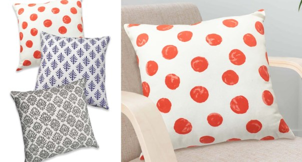Maya cotton printed cushions 18X18 12/B
