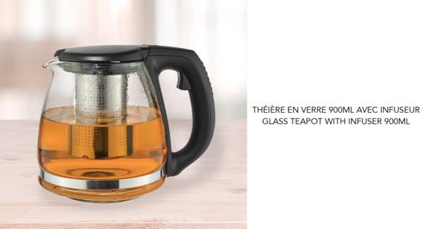 THEIERE AVEC INFUSEUR 900ML