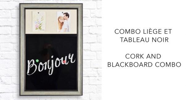 Combo Chalkboard - 48x68x2,3CM- 8B