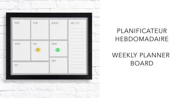 Weekly PLanner  - 37x47x2,8-8B