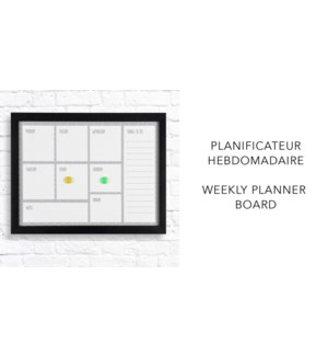 Weekly PLanner  - 37x47x2,8-8B
