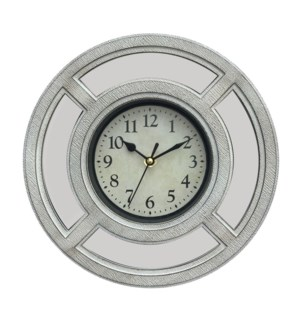 HORLOGE MURALE BLANC ANTIQUE 10""