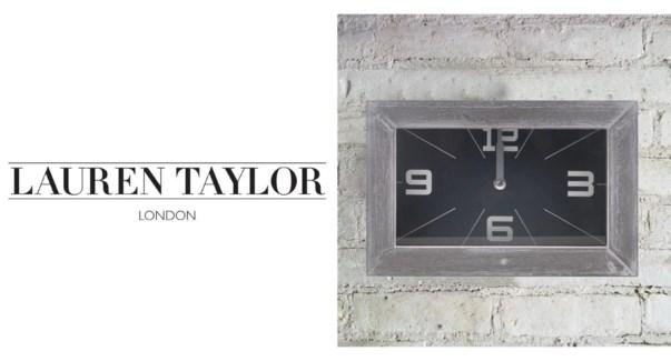 Wall Clock 24X6X16CM Blk 6/B