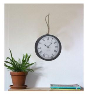 Wall Clock 25X7X72CM BLACK  6/B