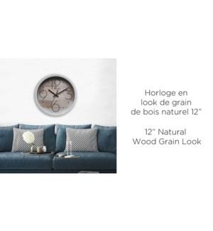 Look de grain de bois naturel de 12 '- 6B