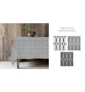 CHLOE POLY-ASST NAPPE DE TABLE 52 x 70 12B