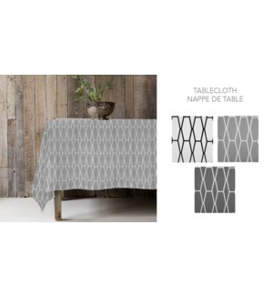 CHLOE POLY-ASST NAPPE DE TABLE 60 x 102 12B