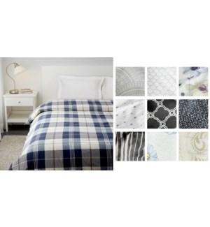 1pc comforter asst Q 6/b