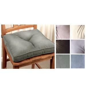 Bentley textured suedine chair pad ASST. 16/B