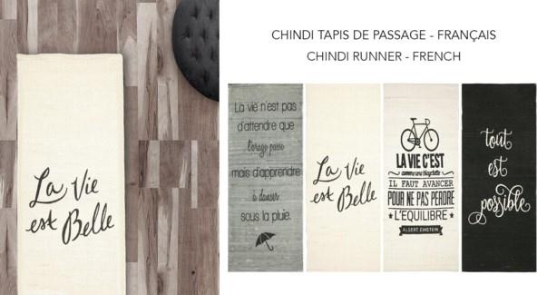 Chindi Runner French 2x5 - 12B