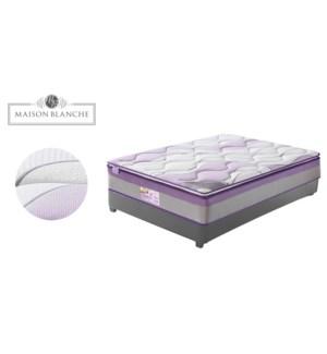 Chƒteau Royale Lavande 97x190x33cm Bal moyen-ferme mattress