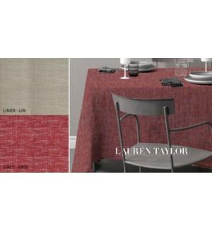 COUTURE NAPPE DE TABLE EN ASPECT LIN ASST 52X70 12B