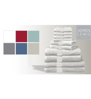 Egyptian Cotton-Blanc-13 x 13-TOWELS