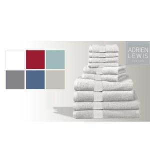 Egyptian Cotton-Blanc-16 x 30-TOWELS