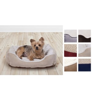 PET BED ASSORTED 53*40*16cm  12/B