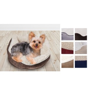 PET BED ASSORTED 45cm  12/B