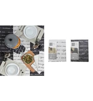 ELISE NAPPE DE TABLE NATUREL  60X84 12B