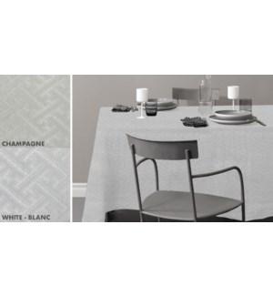 EMPIRE NAPPE DE TABLE MATELASSE ASST 52X70 12B