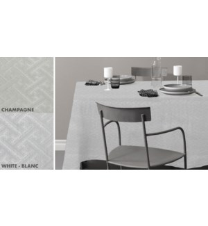 EMPIRE NAPPE DE TABLE MATELASSE ASST 60x84 12B