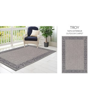 TROY TAPIS 2017 EXTRIEUR GRIS 5X7 2090J48H
