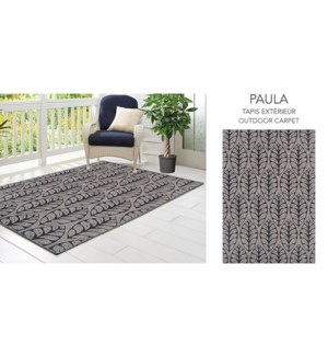 PAULA TAPIS 2017 EXTRIEUR GRIS 5X7 3090J48E