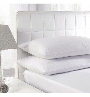 Feather Pillow Whi Twin Pk 8bx