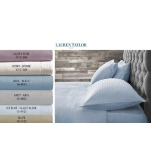 Fleece Asst 11 Sheet Set Qun