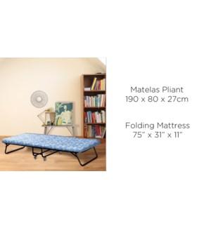 MATELAS PLIANT LIGNE 190x80x27 1B