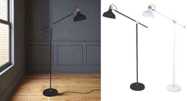 LAMPE DE PLANCHER MTAL BLANC 265x820x1520mm 2B