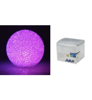 Color Changed Led Globe 11Cm Multi 12/b