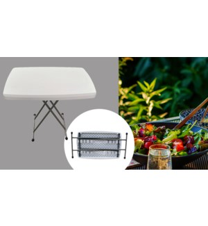 HEIGHT ADJUSTABLE 48-62-74 CM PERSONAL TABLE L75*W50*H48-62